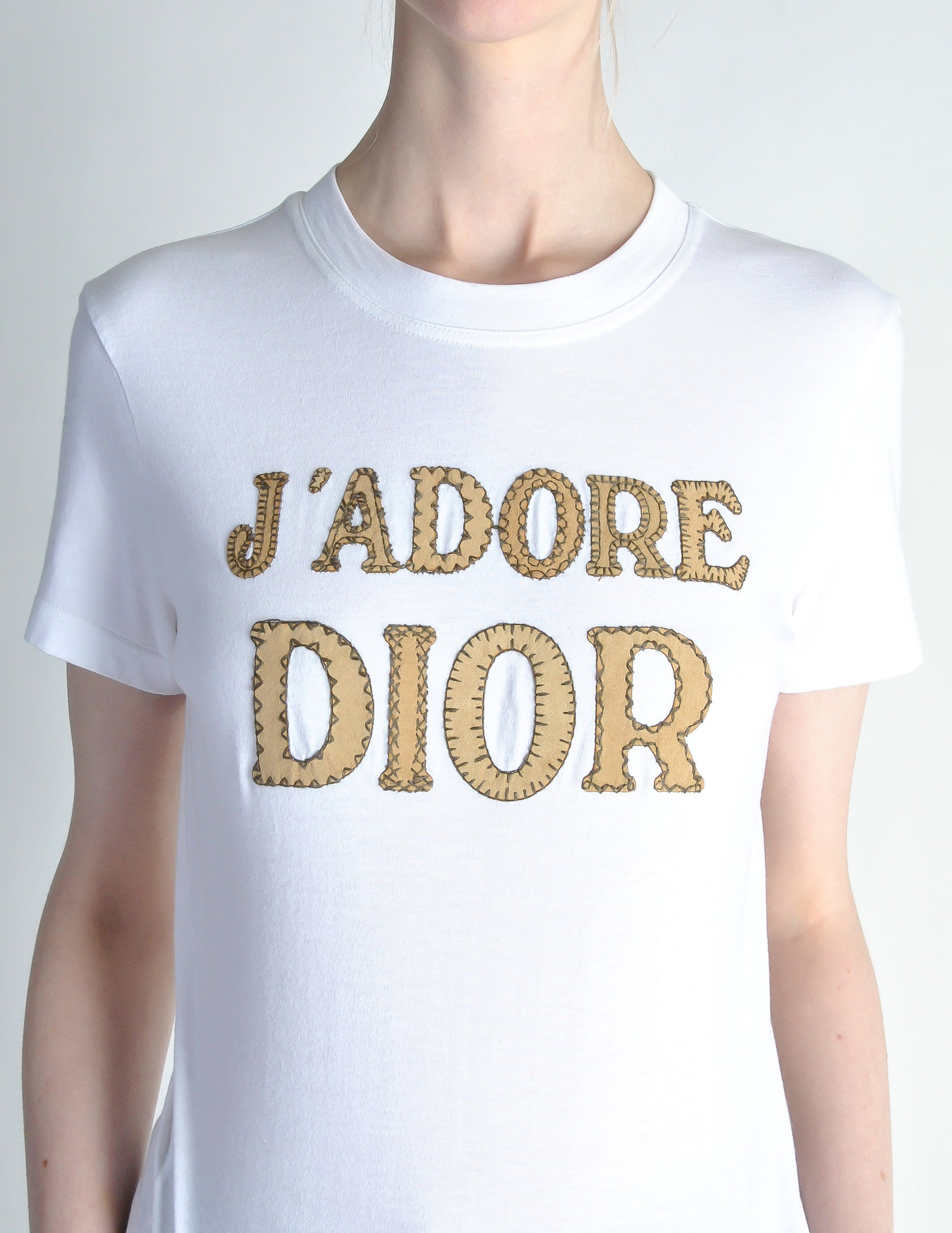 christian dior vintage j 39 adore dior white t shirt from