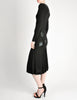 Jean Muir Vintage Black Pleated Sequin Dress - Amarcord Vintage Fashion  - 7