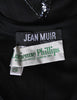 Jean Muir Vintage Black Pleated Sequin Dress - Amarcord Vintage Fashion  - 10