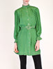 Jean Muir Vintage Green Geometric Button Up Tunic Dress - Amarcord Vintage Fashion  - 4