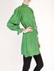 Jean Muir Vintage Green Geometric Button Up Tunic Dress - Amarcord Vintage Fashion  - 7