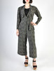 Jean Muir Vintage Polka Dot Silk Draping Jacket and Pants Ensemble Set - Amarcord Vintage Fashion  - 2