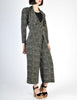 Jean Muir Vintage Polka Dot Silk Draping Jacket and Pants Ensemble Set - Amarcord Vintage Fashion  - 3