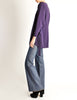 Jean Muir Vintage Purple Wool Crepe Draping Wrap Jacket - Amarcord Vintage Fashion  - 5