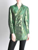Jean Paul Gaultier Vintage Metallic Green Jacket - Amarcord Vintage Fashion  - 2