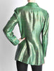 Jean Paul Gaultier Vintage Metallic Green Jacket - Amarcord Vintage Fashion  - 6