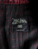 Jean Paul Gaultier Vintage Metallic Maroon Alligator Print Trench Coat - Amarcord Vintage Fashion  - 10
