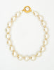 Karl Lagerfeld Vintage Large Pearl Necklace - Amarcord Vintage Fashion  - 2