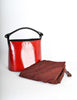 Kenzo Vintage Red Lacquered Basket Bag - Amarcord Vintage Fashion  - 8