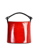 Kenzo Vintage Red Lacquered Basket Bag - Amarcord Vintage Fashion  - 1