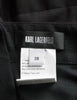 Karl Lagerfeld Vintage Black Pleated Suspender Skirt - Amarcord Vintage Fashion  - 7