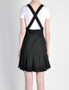 Karl Lagerfeld Vintage Black Pleated Suspender Skirt - Amarcord Vintage Fashion  - 6