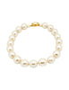 Karl Lagerfeld Vintage Large Pearl Necklace - Amarcord Vintage Fashion  - 1