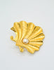 Karl Lagerfeld Vintage Pearl and Oyster Shell Brooch - Amarcord Vintage Fashion  - 6