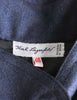 Karl Lagerfeld Vintage Blue Wool Pleated Panel Coat - Amarcord Vintage Fashion  - 8