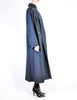 Karl Lagerfeld Vintage Blue Wool Pleated Panel Coat - Amarcord Vintage Fashion  - 5