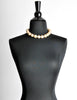 Karl Lagerfeld Vintage Large Pearl Necklace - Amarcord Vintage Fashion  - 4