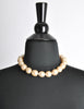Karl Lagerfeld Vintage Large Pearl Necklace - Amarcord Vintage Fashion  - 5