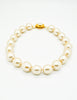 Karl Lagerfeld Vintage Large Pearl Necklace - Amarcord Vintage Fashion  - 6