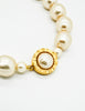 Karl Lagerfeld Vintage Large Pearl Necklace - Amarcord Vintage Fashion  - 3