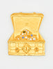Karl Lagerfeld Vintage Treasure Chest Brooch - Amarcord Vintage Fashion  - 2