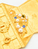 Karl Lagerfeld Vintage Treasure Chest Brooch - Amarcord Vintage Fashion  - 4