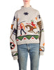 Katharine Hamnett Vintage Native American Knit Sweater