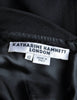 Katharine Hamnett Vintage Black Wool Wiggle Dress - Amarcord Vintage Fashion  - 10