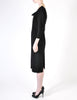 Katharine Hamnett Vintage Black Wool Wiggle Dress - Amarcord Vintage Fashion  - 6