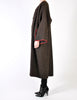 Kenzo Vintage Brown Wool Plantation Coat - Amarcord Vintage Fashion  - 4