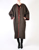 Kenzo Vintage Brown Wool Plantation Coat - Amarcord Vintage Fashion  - 5