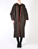 Kenzo Vintage Brown Wool Plantation Coat - Amarcord Vintage Fashion  - 2