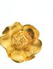 Kenzo Vintage Gold Flower Earrings - Amarcord Vintage Fashion  - 3