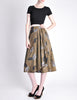 Kenzo Vintage Green Leaf Print Wrap Skirt - Amarcord Vintage Fashion  - 5