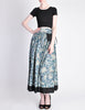 Kenzo Vintage Jungle Jap Green Floral Full Skirt - Amarcord Vintage Fashion  - 5