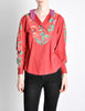 Kenzo Vintage Floral Print Long Sleeve Top - Amarcord Vintage Fashion  - 2