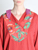 Kenzo Vintage Floral Print Long Sleeve Top - Amarcord Vintage Fashion  - 4