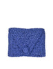 Koret Vintage Blue Large Woven Clutch Bag