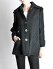 Krizia Vintage Black Fuzzy Wool Coat - Amarcord Vintage Fashion  - 2