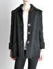 Krizia Vintage Black Fuzzy Wool Coat - Amarcord Vintage Fashion  - 5