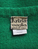 Krizia Vintage Green Butterfly 3-Piece Sweater Skirt & Top Set - Amarcord Vintage Fashion  - 9