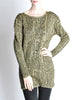 Krizia Vintage Black and Gold Sweater Dress - Amarcord Vintage Fashion  - 3