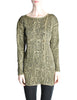 Krizia Vintage Black and Gold Sweater Dress - Amarcord Vintage Fashion  - 1