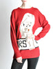 Krizia Vintage Red Orso Polar Bear Sweater - Amarcord Vintage Fashion  - 6