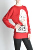 Krizia Vintage Red Orso Polar Bear Sweater - Amarcord Vintage Fashion  - 5