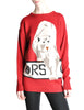 Krizia Vintage Red Orso Polar Bear Sweater - Amarcord Vintage Fashion  - 1