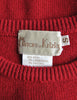 Krizia Vintage Red Orso Polar Bear Sweater - Amarcord Vintage Fashion  - 7