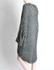Krizia Vintage Black and Silver Oversized Cardigan - Amarcord Vintage Fashion  - 3