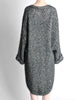 Krizia Vintage Black and Silver Oversized Cardigan - Amarcord Vintage Fashion  - 6
