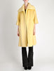 Lilli Ann Vintage Banana Yellow Wool Mohair Swing Coat - Amarcord Vintage Fashion  - 4